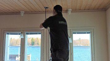 Ilmanvaihtokanavien puhdistus, ilmanvaihtoputkien puhdistus, ilmanvaihdon puhdistus, iv-kanavien puhdistus, luosiivous